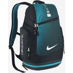 Nike Hoops Elite Max Air Graphic Backpack. Nike.com ($85) ❤ liked on Polyvore featuring bags, backpacks, rucksack bag, knapsack bags, nike, nike bag and nike backpack