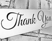 Thank you Sign, Wedding Signs, Thank You photo prop for thank you cards, Event planner, Wedding Venue, Wedding Decorations Reception