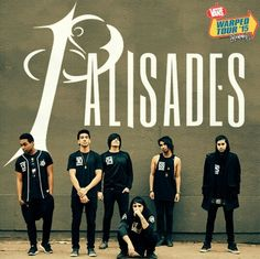 Palisades playing Warped 2015!!! So excited to see them :)