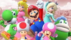 Mario Party Alle Charaktere des Wii U-Partykrachers Super Mario Bros, Super Mario World, Super Mario Brothers, Mario Bros., Mario Party, Mario Kart Characters, Peach Mario, Party Hard, Video Game Companies