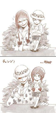 Cora-san & Law