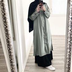 Modest Fashion Hijab, Casual Hijab Outfit, Abaya Fashion, Muslim Fashion, Denim Fashion, Abaya Style, Hijab Style, Hijab Fashionista, Girls Fashion Clothes