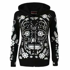 Skull sweatshirt I love love love it!!!!