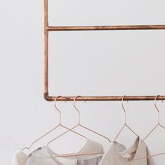 How to Build a Copper Clothing Rack at Home on Food52