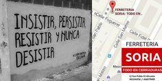 Buenos días.  #Felizmiercoles Hoy mañana y siempre!! INSISTIR PERSISTIR RESISTIR Y NUNCA DESISTIR!!