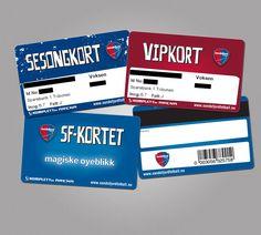 Allegro // Sandefjord Fotball // VIP-card, Season ticket card, Rewards card and tickets for Sandefjord Fotball.