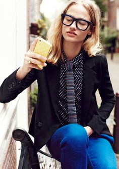 I think I could pull this look out of my closet without buying anything new. SWEET!