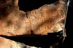 """Archaeologists from the National Institute of Anthropology & History (INAH-Conaculta) found a complex panel of petroglyphs carved from 850 to 1350 AD, in """"Cantil de las animas"""" [Soul Ledge] near the town of Jesus Maria Cortes,Tepic, Nayarit. The bas-relief symbolic carvings, are attributed to ancient groups of the Aztlan culture, located in an archeological zone of the region –Nayarit's mountainous southern high plateau  http://artdaily.com/index.asp?int_sec=2_new=60333#.UQLUpSZGJ5Q[/url]"""