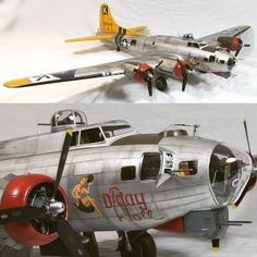 """957 Likes, 5 Comments - Usina dos Kits (@usinadoskits) on Instagram: """"Boeing B-17G """"Flying Fortress"""" 1/32 Hong Long Models """"D-Day Doll"""" from BoweModels. PART 2…"""""""