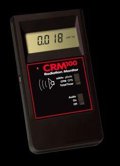 International Medcom CRM-100 Radiation Monitor