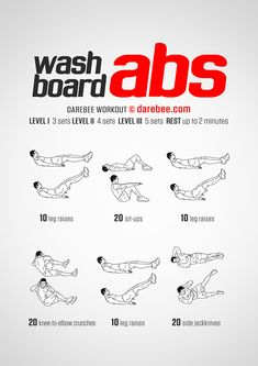 Washboard Abs workout.