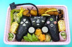Sony Playstation #bento #food #fun