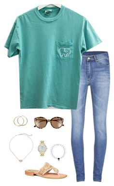 """Missing drama class so much right now"" by oliviacat1215 ❤ liked on Polyvore featuring Cheap Monday, Jack Rogers, Illesteva, Kendra Scott and Kate Spade"