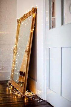 Le grand miroir posé à même le sol : le parfait détail déco ...
