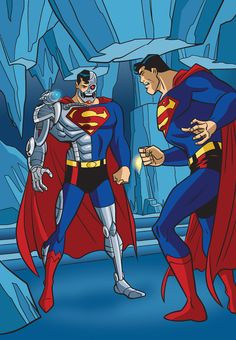 DC Super Heroes: Cyborg Superman - 09 by TimLevins on DeviantArt Superman Family, Superman Man Of Steel, Batman Vs Superman, Superman Symbol, Dc Comics Art, Marvel Dc Comics, Anime Comics, Comic Books Art, Comic Art