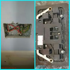 I had to adapt many enclosures to accept the seal of the Lap accessories. Above (right) is the double socket outlet plate.