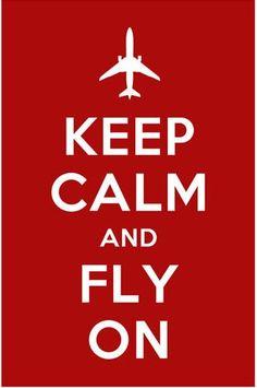 Sound advice! Keep calm and fly on. #travel