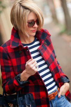 Checks + Stripes
