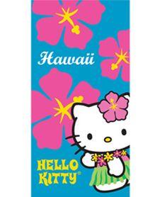Hello Kitty Hawaii towel $16.99 from ABC Store