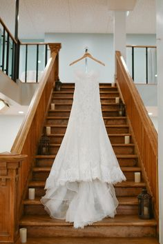 The grand staircase in the Murano Room makes a great backdrop for the perfect photo of the dress. Wedding Ceremony, Wedding Day, Grand Staircase, Blush Roses, Paper Lanterns, Perfect Photo, Portrait Photographers, Bride, Wedding Dresses