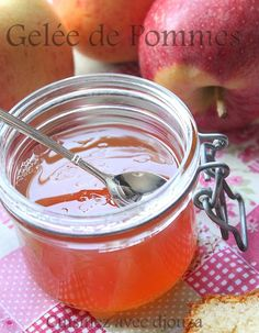 Homemade apple jelly - confitures et gelée - Salad Recipes Healthy
