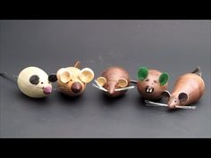 I demonstrate wood turning a cute little wooden mouse. The design credit for this fun, easy wood lathe project goes to some unknown Danish Modern designer fr...