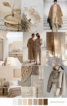 Pattern Curator delivers color, print and pattern trends and inspiration. Beige Color Palette, Colour Pallete, Color Beige, Color Palettes, Color Trends, Design Trends, Feeds Instagram, Beige Aesthetic, Aesthetic Outfit