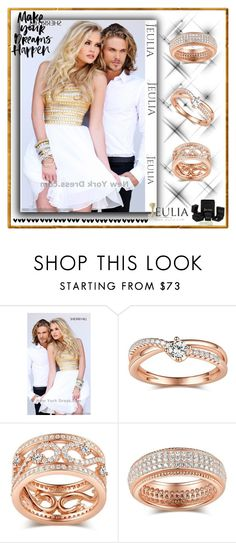 """""""Jeulia Jewelry 13."""" by esma178 ❤ liked on Polyvore featuring Sherri Hill, women's clothing, women's fashion, women, female, woman, misses and juniors"""