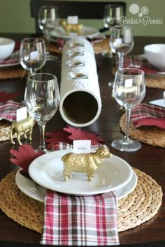 Thanksgiving Decorating Ideas by Parties for Pennies