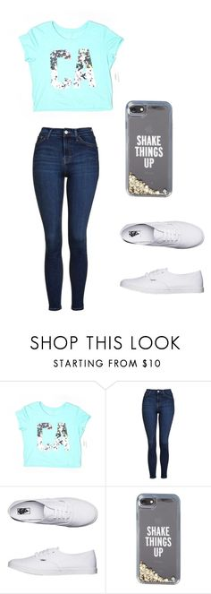 """Hey what's up my beautiful people 🤗🤗"" by m-d-cardin ❤ liked on Polyvore featuring Aéropostale, Topshop, Vans and Kate Spade"