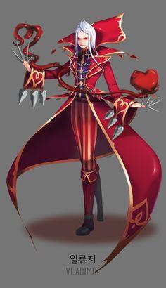 Heartseeker Vladimir - League of Legends
