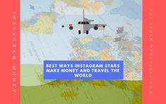 BEST Ways Instagram Stars Make Money and Travel the World Instagram Money, Instagram Accounts, Instagram Story, Instagram Posts, Snapchat Groups, Make Money Traveling, Outdoor Supplies, Instagram Influencer, Way To Make Money