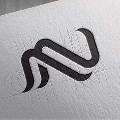 Logo inspiration - Textile et fil Logo Inspiration, Web Design, Icon Design, Logos Online, Logo Branding, Branding Design, Corporate Design, Graphic Pattern, Typographie Logo