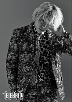 """Zico Models His Very Stylish Suit with """"The Celebrity"""" 