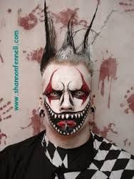 10 Creepy Clown Halloween Makeup Ideas That Will Make Your Bravest ...