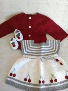 Kirazlı bebek takım