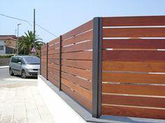 techo con postes de madera tratada - Buscar con Google