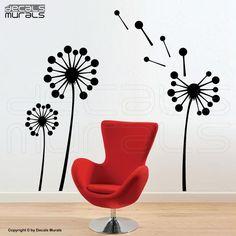 He encontrado este interesante anuncio de Etsy en https://www.etsy.com/es/listing/69416626/wall-decals-geometric-dandelions-vinyl