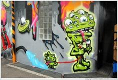 Graffiti Character Baby Aliens
