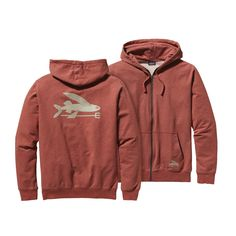 When things get a bit chillier, the Patagonia Men's Flying Fish Midweight Hooded Full-Zip Sweatshirt quickly warms things back up. Check it out!  #FairTrade #FathersDay #apparel