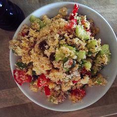 Frau Jupiters Tag ist ganz nach meinem Geschmack: Couscoussalat, was gibt es besseres?!  http://fraujupiter.blogspot.de/2014/09/vegan-wednesday-107.html
