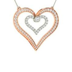 Necklaces - Corabelle - SI Diamond Necklace in 14k White Gold (1.2 ct.tw.)