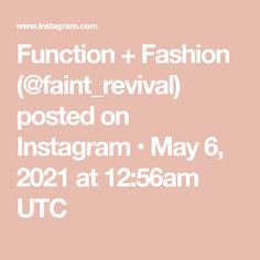 Function + Fashion (@faint_revival) posted on Instagram • May 6, 2021 at 12:56am UTC In Ear Monitors, Worship Leader, May, Instagram, Fashion, Moda, Fashion Styles, Fashion Illustrations