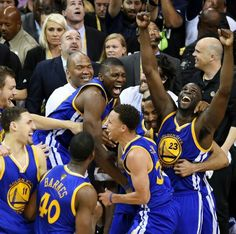 The 2014-2015 NBA Champs. The Golden State Warriors.