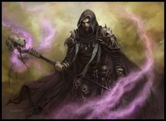 Dread Warlock by daarken necromancer staff magic wizard armor clothes clothing fashion player character npc | Create your own roleplaying game material w/ RPG Bard: www.rpgbard.com | Writing inspiration for Dungeons and Dragons DND D&D Pathfinder PFRPG Warhammer 40k Star Wars Shadowrun Call of Cthulhu Lord of the Rings LoTR + d20 fantasy science fiction scifi horror design | Not Trusty Sword art: click artwork for source