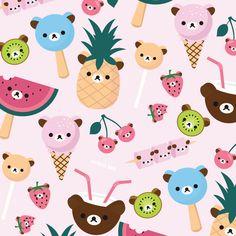 rilakkuma ^O^ YUMS … Cute Things Kawai…