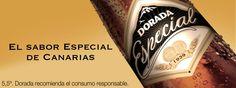 """Si vienes al Summer Market Xàbia, podrás degustar de una """"Dorada Especial"""", una cerveza Canaria con un sabor especial, de la mano de Bodegas Sortetes."""