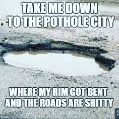 I always think of illinois roads 🤣 Haha Funny, Hilarious, Lol, Funny Stuff, Funny Shit, Funny Quotes, Funny Memes, Jokes, Slang Quotes