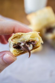 These 2-ingredient Nutella Puffs are the perfect appetizer or dessert for when you want something chocolatey, easy, and fast.