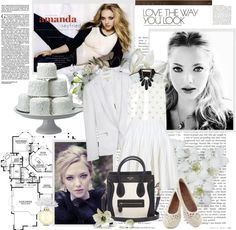 """""""LOVE THE WAY YOU LOOK (AMANDA SEYFRIED)"""" by k-hearts-a ❤ liked on Polyvore"""